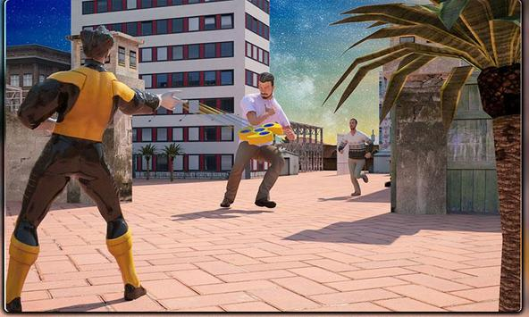 Monster Superheroes vs Gangsters Street Battle screenshot 5