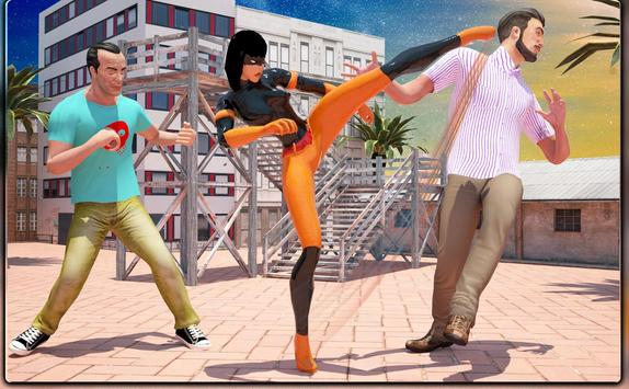 Monster Superheroes vs Gangsters Street Battle screenshot 8