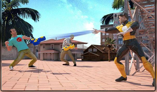 Monster Superheroes vs Gangsters Street Battle screenshot 18