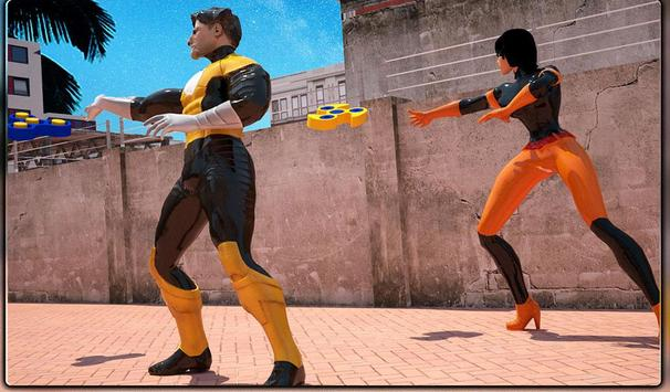 Monster Superheroes vs Gangsters Street Battle screenshot 20