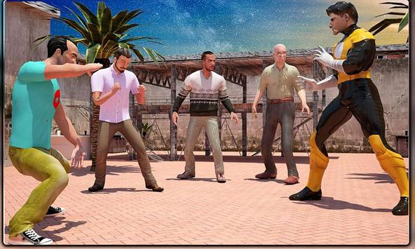 Monster Superheroes vs Gangsters Street Battle screenshot 3