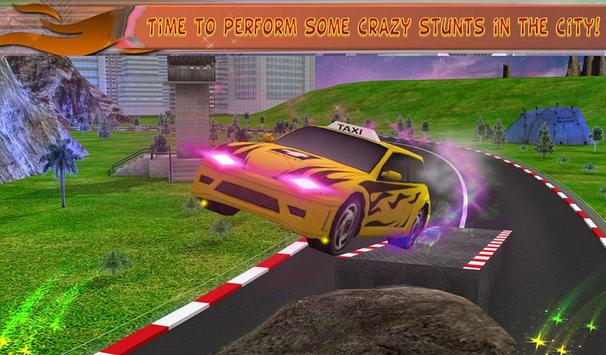 Modern Taxi Crazy Stunts apk screenshot