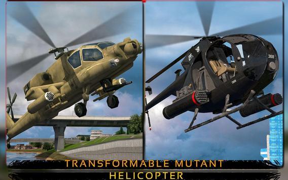 Mutant Helicopter Flying Sim apk screenshot