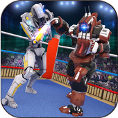 Robot Ring Fighting Battle icon