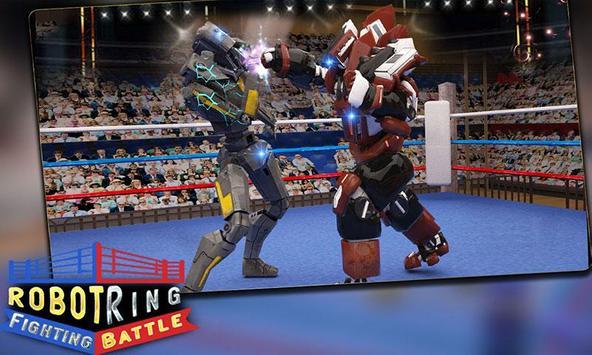 Robot Ring Fighting Battle poster