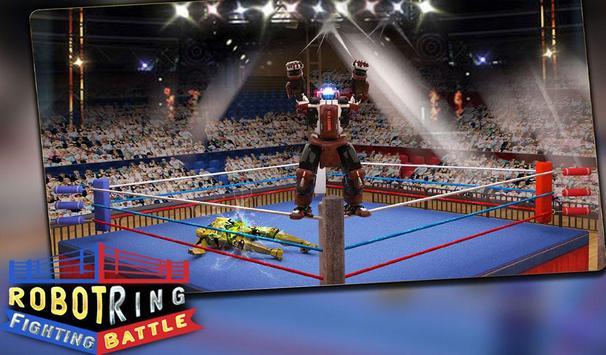 Robot Ring Fighting Battle apk screenshot
