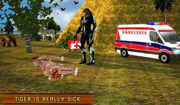 Robot Doctor: Animal Hospital apk screenshot