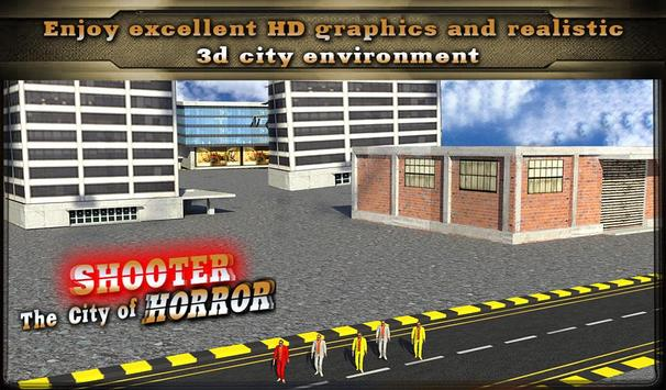 Shooter : The City of Horror apk screenshot