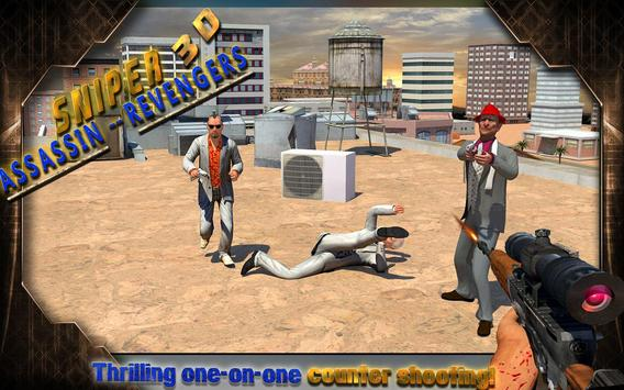 Sniper 3D Assassin: Revengers apk screenshot