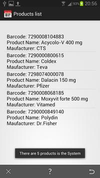 Barcode Expiration Date screenshot 4
