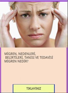MİGREN NEDİR TANISI , TEDAVİSİ poster