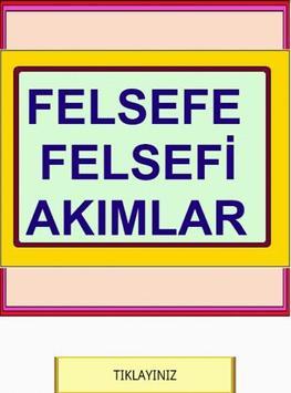 YGS LYS FELSEFE AKIMLARI poster