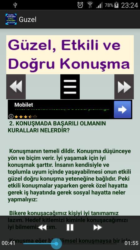 Güzel Konuşma Etkili Konuşma Bilgileri For Android Apk Download