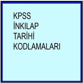 KPSS İnkılap Tarihi Ders Notu Kodlamalar İlkler icon