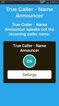 TrueCaller-Name Announcer screenshot 1