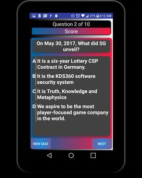 SG Questions App apk screenshot