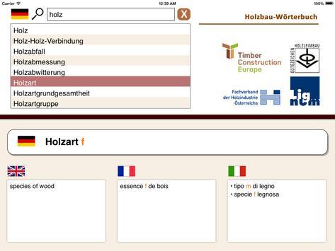 Timber Construction Dictionary screenshot 1