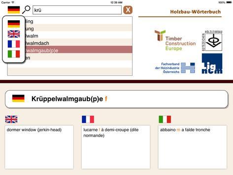 Timber Construction Dictionary apk screenshot