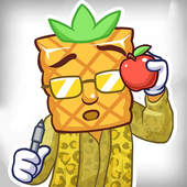 Pineapple Guy Apple Pen Flip icon