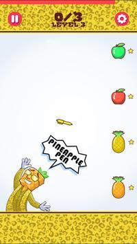 Pineapple Guy Apple Pen Flip apk screenshot