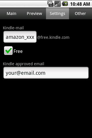 Send to Kindle for Android - APK Download