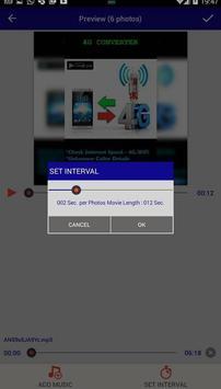 تحويل صورك إلى فيديو بالموسيقى screenshot 3