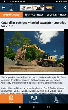 The Construction Index Canada apk screenshot
