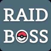 Raid Boss - レイドバトル - リスト & カウンター for ポケモンGO アイコン