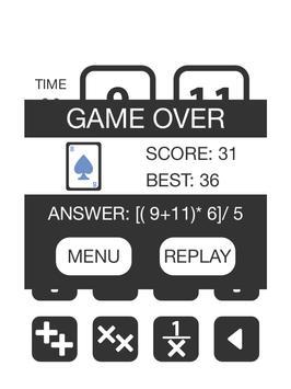 Game24 screenshot 8