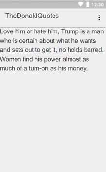 Donald  Trump Quotes apk screenshot