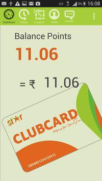 Star Clubcard apk screenshot