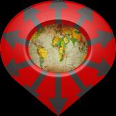 Guide Around Me: Search & Go icon