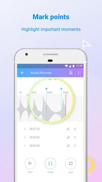 Joy Recorder: Sound Recorder & Voice Changer Free apk screenshot