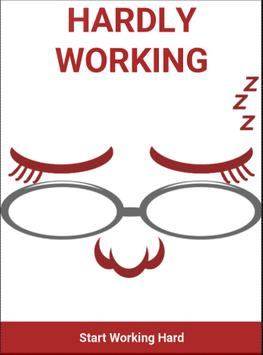 Hardly Working poster