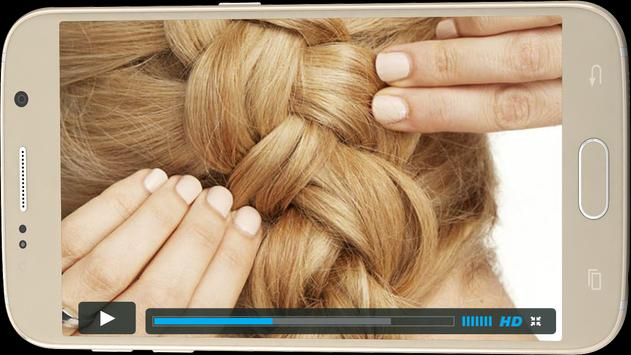 Hair Styles Steps HD Videos screenshot 5