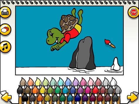 Coloring Games Poster Apk Screenshot