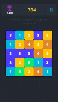 Block merged 10! screenshot 1