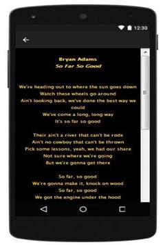 Bryan Adams Anthopology part 2 apk screenshot