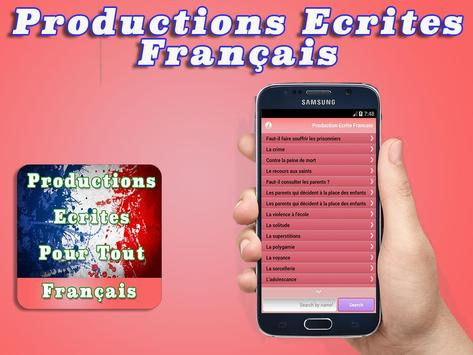 French Writings Productions poster