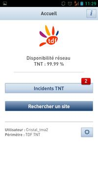 TDF Cristal Smartphone screenshot 1