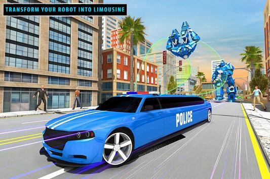 US Police Limousine Car Robot Quad Bike Transport screenshot 16