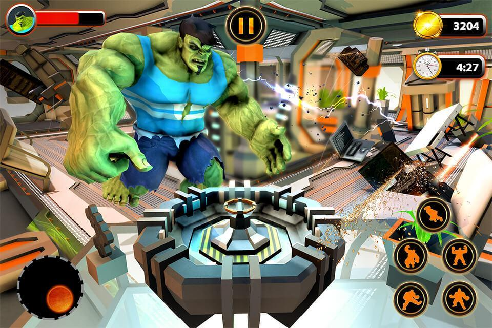 Incredible Monster Hero City Battle Rampage Game Unreleased For