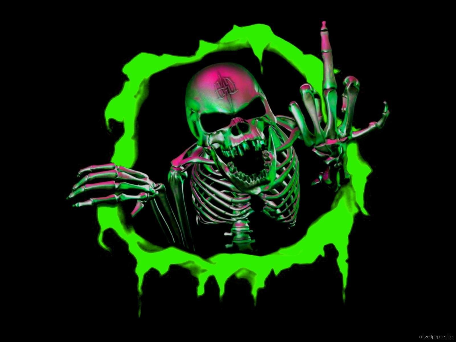 Skull wallpaper HD for Android - APK Download