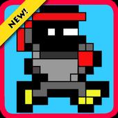 Super pixel ninja adventure icon