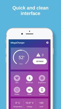 Mega Charger - Battery Optimizer screenshot 1