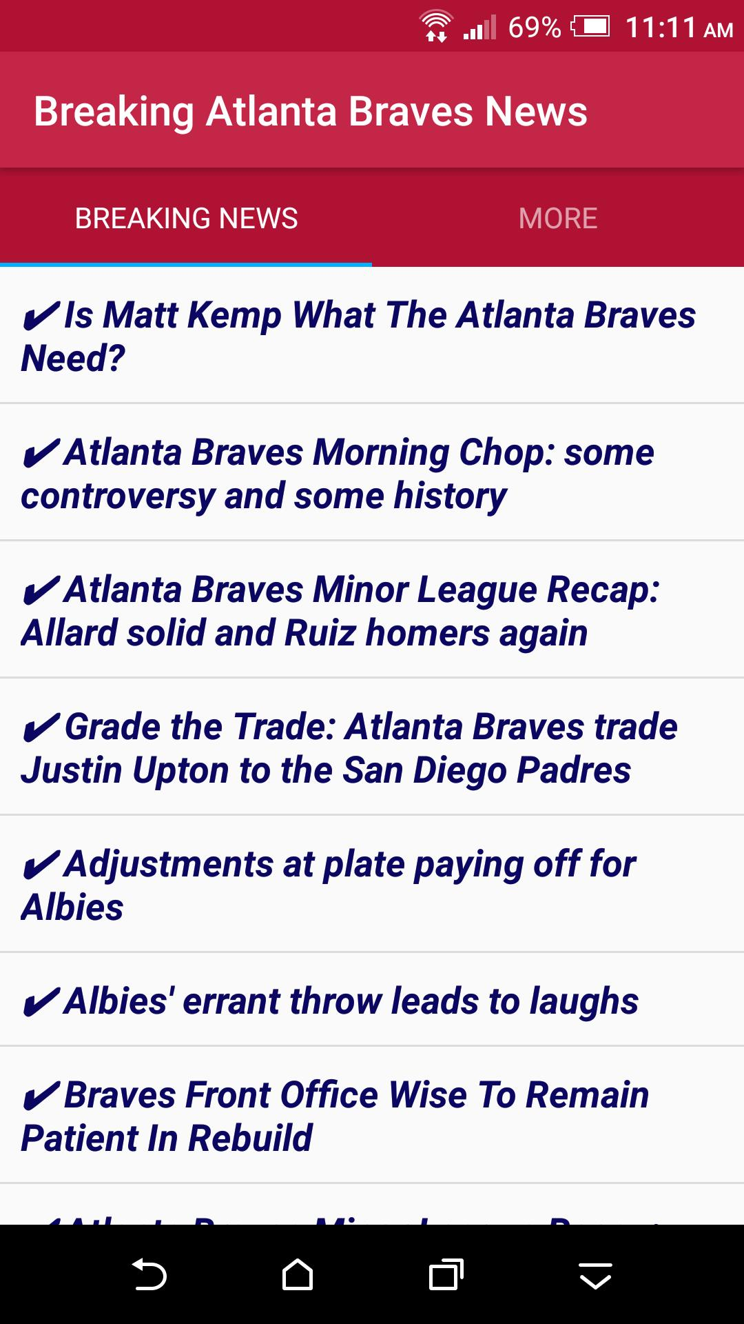 Breaking Atlanta Braves News for Android - APK Download