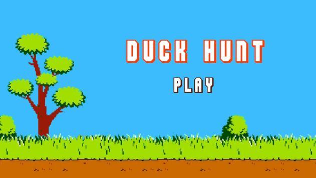 Duck Hunt 90s poster