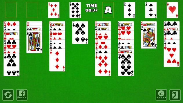 FreeCell Cardgame apk screenshot