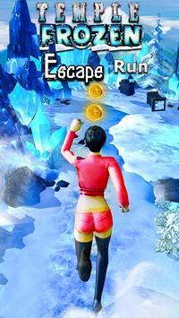 Temple Frozen Escape Run 3D poster