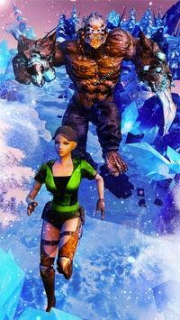 Temple Frozen Escape Run 3D screenshot 1